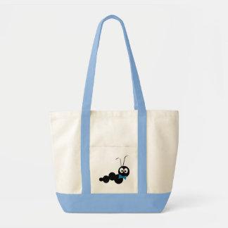 Azul del Doodlebug Bolsa De Mano