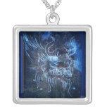 Azul del dragón de DaVinci Grimpola