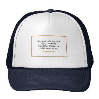 Azul del equipo o del gorra de los deportes con su