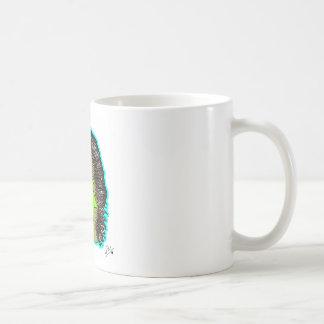 azul del erizo taza clásica