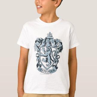 Azul del escudo de Gryffindor Playera