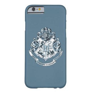 Azul del escudo de Hogwarts Funda Barely There iPhone 6