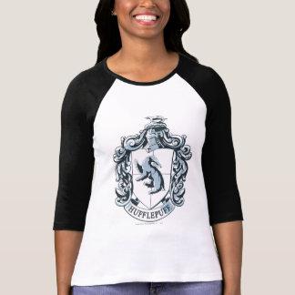 Azul del escudo de Hufflepuff Camiseta