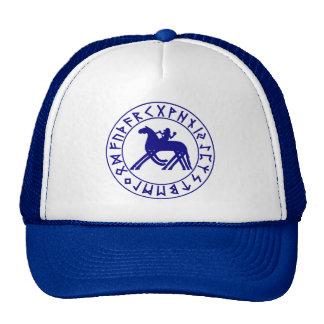 Azul del escudo de Sleipnir Gorra