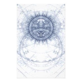 Azul del extracto en el tema blanco tarjetas publicitarias