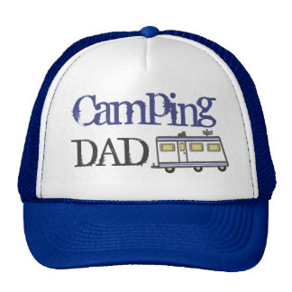 Azul del gorra del camionero del papá del día de p