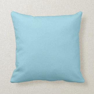 Azul del huevo de los petirrojos almohadas