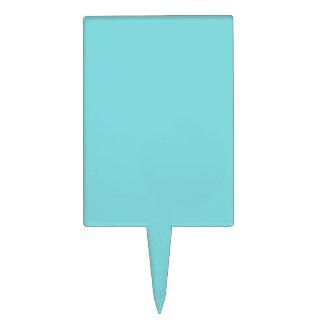 Azul del huevo del petirrojo figura de tarta