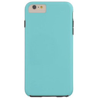 Azul del huevo del petirrojo funda de iPhone 6 plus tough