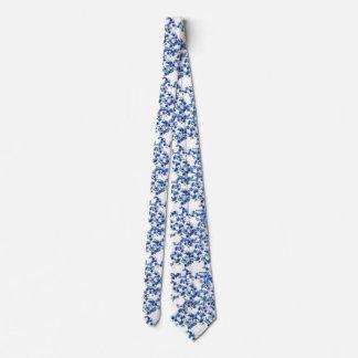 Azul del Hydrangea Corbatas
