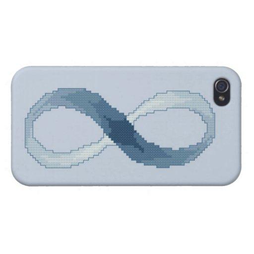 Azul del infinito iPhone 4 cárcasa
