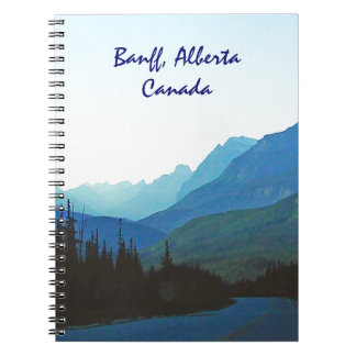 Azul del jaspe de Banff Libro De Apuntes