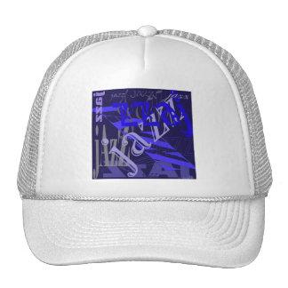 Azul del jazz en azul gorras