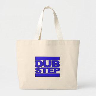 Azul del logotipo de DUBSTEP Bolsa