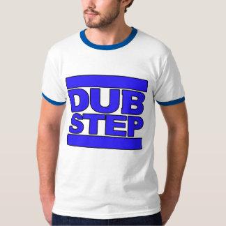 Azul del logotipo de DUBSTEP Polera