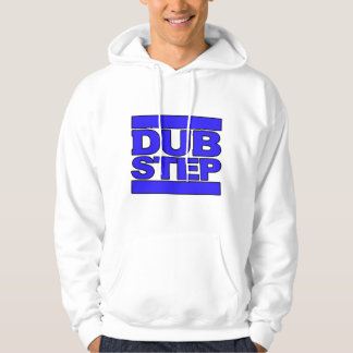 Azul del logotipo de DUBSTEP Suéter Con Capucha