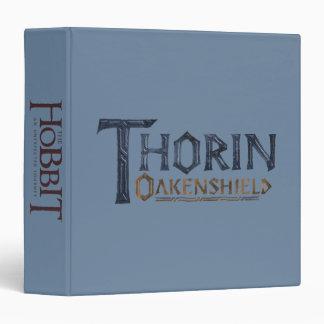 """Azul del logotipo de THORIN OAKENSHIELD™ Carpeta 1 1/2"""""""