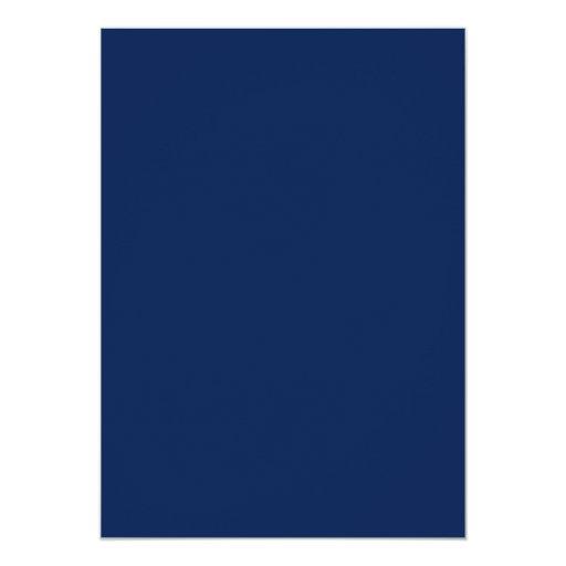 """Azul del mar profundo invitación 5"""" x 7"""""""