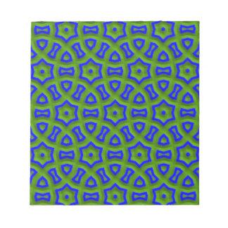 azul del modelo 01 del poder (c) blocs de papel