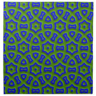 azul del modelo 01 del poder (c) servilleta de papel