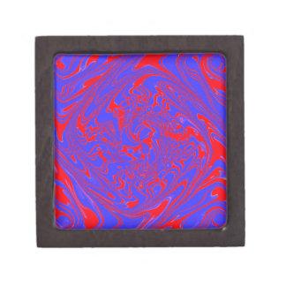 azul del modelo 07 del poder (c) caja de joyas de calidad