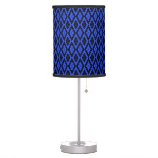 Azul del modelo 2 de Argyle Lámpara De Escritorio