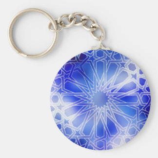 Azul del modelo de Alhambra Llavero Redondo Tipo Pin