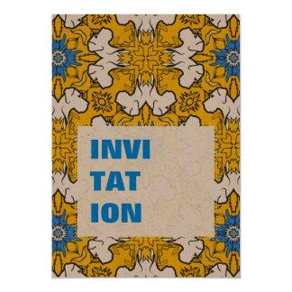 """Azul del modelo de great dane invitación 5"""" x 7"""""""