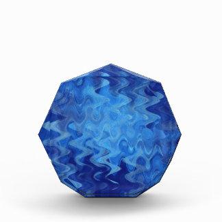 azul del modelo de onda creado por Tutti
