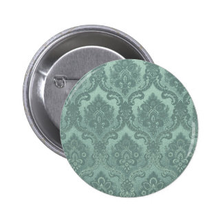 Azul del modelo del papel pintado del vintage chapa redonda 5 cm