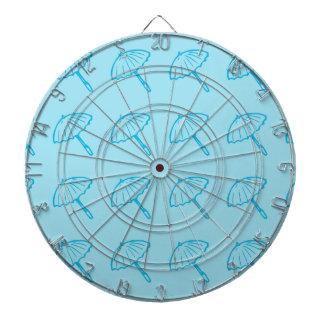 azul del modelo del paraguas tablero dardos