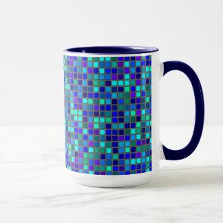 Azul del mosaico