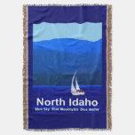 Azul del norte de Idaho Manta