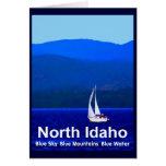 Azul del norte de Idaho Tarjeta