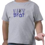 Azul del palo de golf de la marina de guerra camiseta