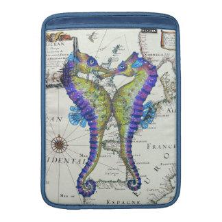 Azul del Seahorse Fundas MacBook
