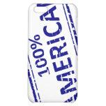 Azul del sello de goma del AMERICANO del 100% en b