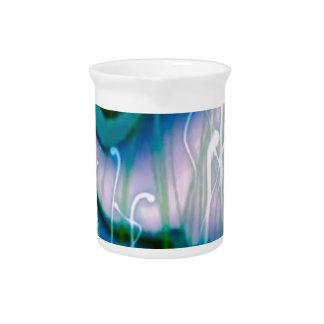 azul del sonido líquido jarra de beber