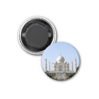 azul del Taj Mahal Imán Redondo 3 Cm