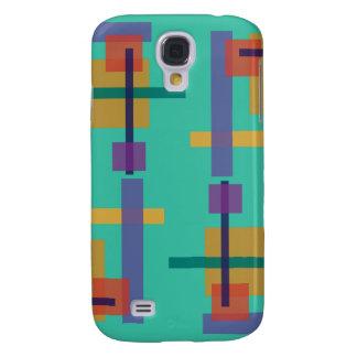 Azul del trullo del Abstractionist Funda Para Galaxy S4