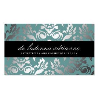 Azul del trullo del damasco de 311 Ladonna Tarjetas De Visita