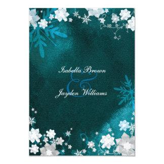 Azul del trullo + Invitaciones blancas del boda de Invitaciones Personalizada
