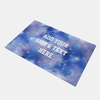 Azul del universo del fondo + sus propias ideas