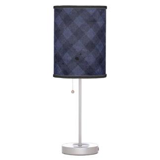 Azul del vintage lámpara de mesa