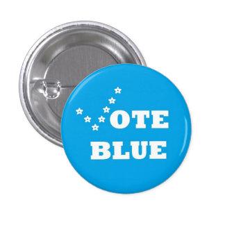 Azul del voto - Pin