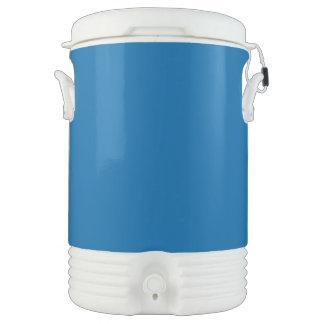 Azul del zafiro vaso enfriador igloo