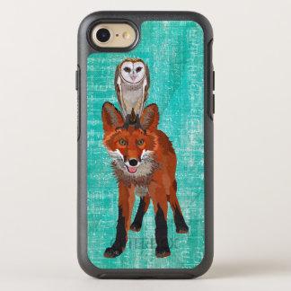 AZUL DEL ZORRO ROJO Y DEL BÚHO FUNDA OtterBox SYMMETRY PARA iPhone 7