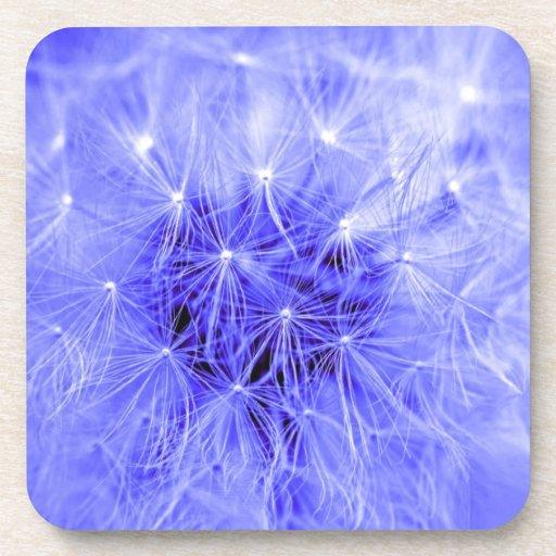 Azul diáfano posavaso