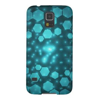 azul digital funda galaxy s5