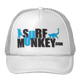Azul - diseño de la cartelera de Munkey de la resa Gorra